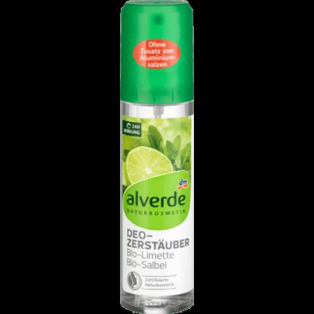 alverde alverde Deodorant Verstuiver Bio-limoen Bio-Salie 75 ml