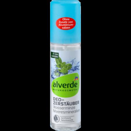 alverde alverde Deodorant Verstuiver Watermunt Zee Mineralen 75 ml
