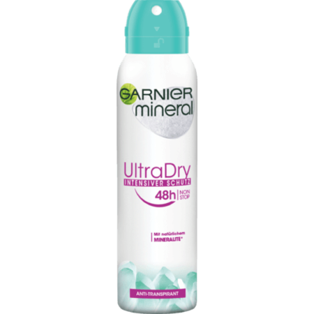 Garnier Garnier Deo Spray Anti-Transpirant Mineral Ultra Dry 150 ml