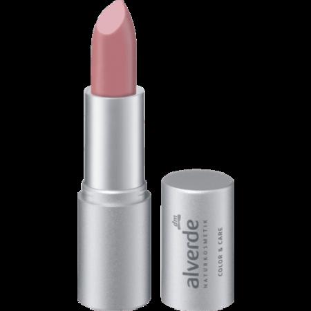 alverde alverde Lippenstift Color & Care Rosy Nude 03 (4,6 gram)