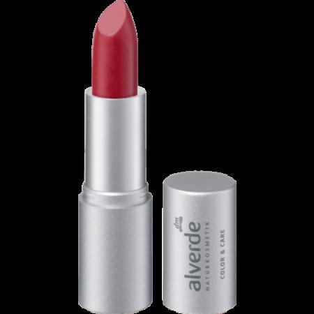 alverde alverde Lippenstift Color & Care Elegant Red 10 (4,6 gram)