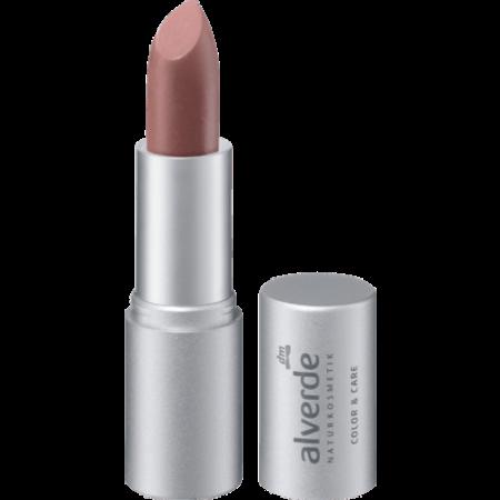 alverde alverde Lippenstift Color & Care Tender Mauve 43 (4,6 gram)