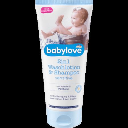 Babylove babylove 2in1 Waslotion & Shampoo Sensitive 200 ml
