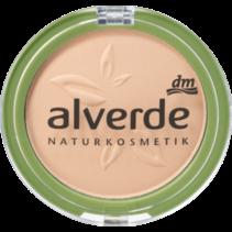 alverde Make-Up Powder Foundation Velvet Sand 20