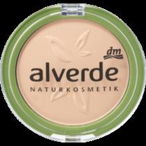 alverde Make-Up Powder Foundation Soft Ivory 10