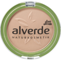 alverde Make-Up Powder Foundation Ashy Nude 40