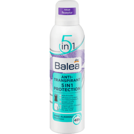 Balea Balea Deo Spray Anti-Transpirant 5in1 200 ml