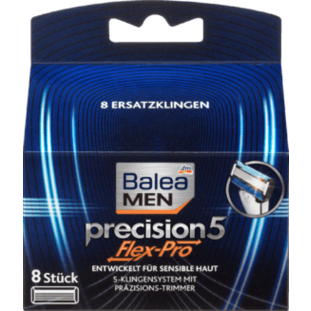 Balea MEN Balea MEN Precision5 Flex-Pro Scheermesjes 8 stuks