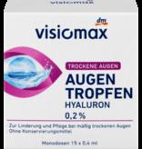 VISIOMAX Oogdruppels met 0,2% Hyaluronzuur 15 ampullen