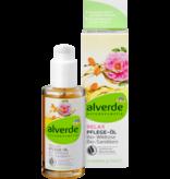 alverde alverde Body Oil Relax Bio-Wildrose Bio-Sanddorn 100 ml