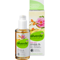 alverde Body Oil Relax Bio-Wildrose Bio-Sanddorn