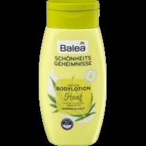 Balea Bodylotion Hennep (Hennepextract + Rozenbottelolie)