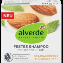alverde Vaste Shampoo Met Amandelgeur