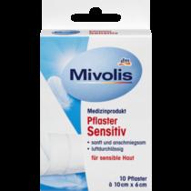 Mivolis Pleisters Sensitive 10 cm x 6 cm