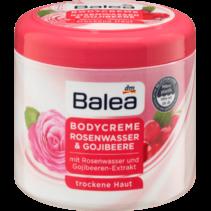 Balea Bodycrème Rozenwater & Gojibessen