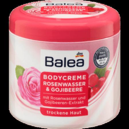 Balea Balea Bodycrème Rozenwater & Gojibessen 500 ml