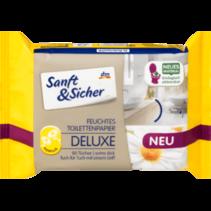 Sanft&Sicher Vochtig Toiletpapier Deluxe Kamille Navulverpakking
