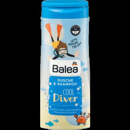 Balea Kids Douche & Shampoo Cool Diver 300 ml