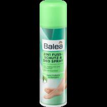 Balea 2in1 Voetbescherming en Deodorant Spray