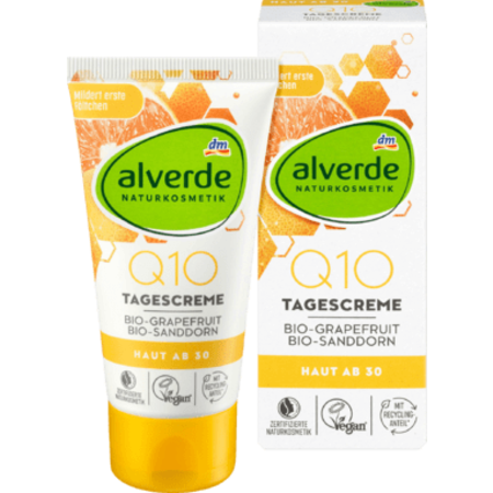 alverde alverde Q10 dagcrème Bio-Grapefruit 50 ml