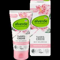 alverde Dagcrème Bio-Wildrose