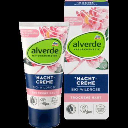 alverde alverde Nachtcrème Bio-Wildrose 50 ml