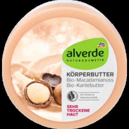alverde alverde Body Butter Macadamia Nuts Shea Butter 200 ml
