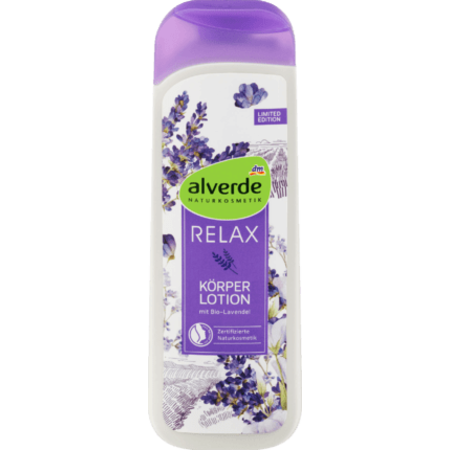 alverde alverde Relax Bodylotion Biologische Lavendel 250 ml