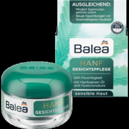 Balea Balea Dagcrème Hennep 24-uurs Verzorging 50 ml