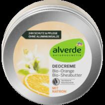 alverde deo crème Bio-Orange Bio-Sheabutter
