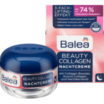 Balea Nachtcrème Beauty Collageen met Collageen Booster