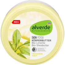 alverde Body Butter Skin Food