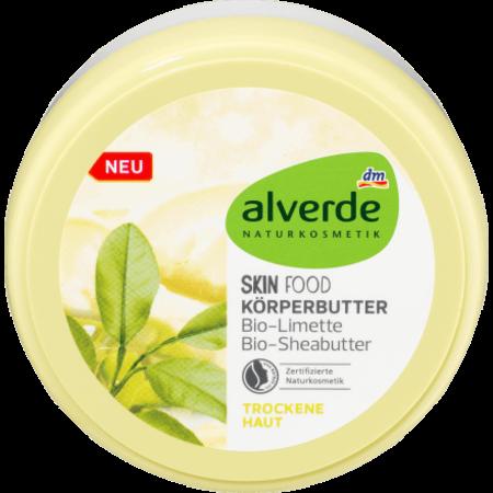 alverde alverde Body Butter Skin Food 200 ml