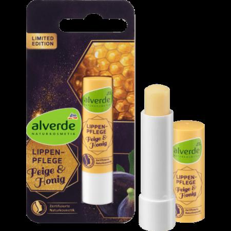 alverde alverde Lipverzorging Vijg en Honing 4,8 gram