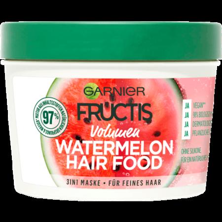 Garnier Garnier Fructis 3in1 Volume  Haarmasker Watermelon Hair Food 390 ml