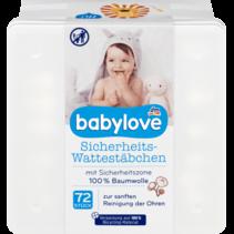 Babylove Veiligheids-Wattenstaafjes