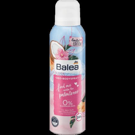 Balea Balea Deo-Bodyspray Find Me Under The Palmtrees 200 ml