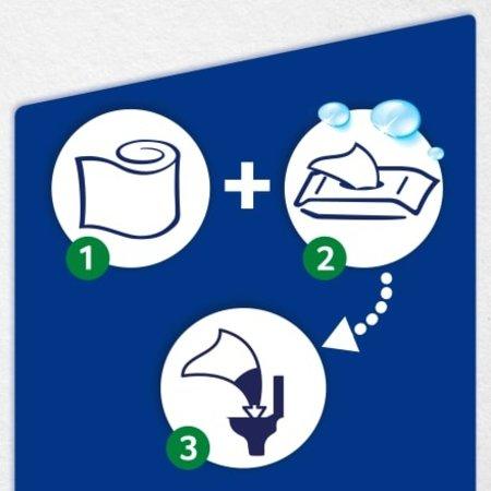 Tempo Tempo Vochtig Toiletpapier Voor Hem & Haar 42 stuks