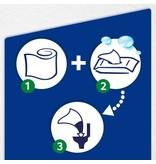 Tempo Tempo Vochtig Toiletpapier Amandelmelk & Panthenol 42 stuks