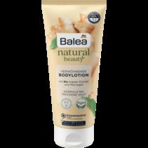 Balea Natural Beauty Bodylotion Bio-Gemberextract en Moringa-olie