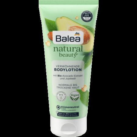 Balea Balea Natural Beauty Bodylotion Bio-Avocado-Extract en Jojoba-Olie 200 ml