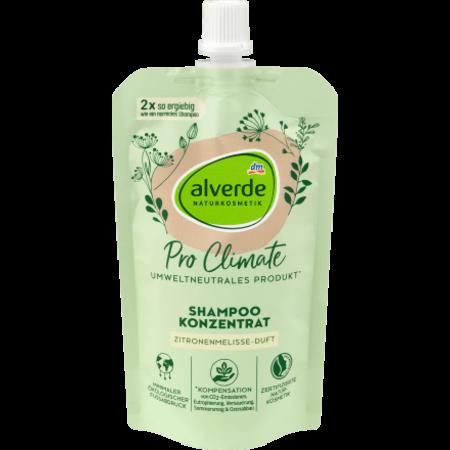 alverde alverde Pro Climate Shampoo Concentraat Citroenmelisse 100 ml