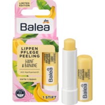 Balea Lipverzorging Peeling Hennep en Banaan