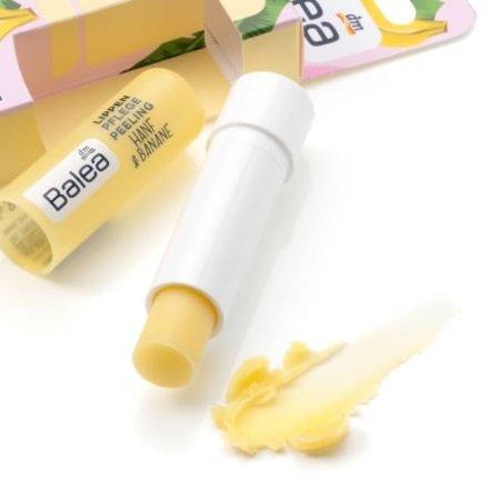 Balea Balea Lipverzorging Peeling Hennep en Banaan 4,8 gram