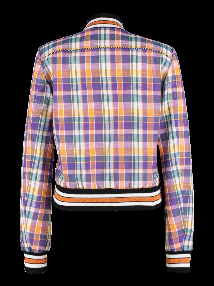 SIS by Spijkers en Spijkers college jacket with print
