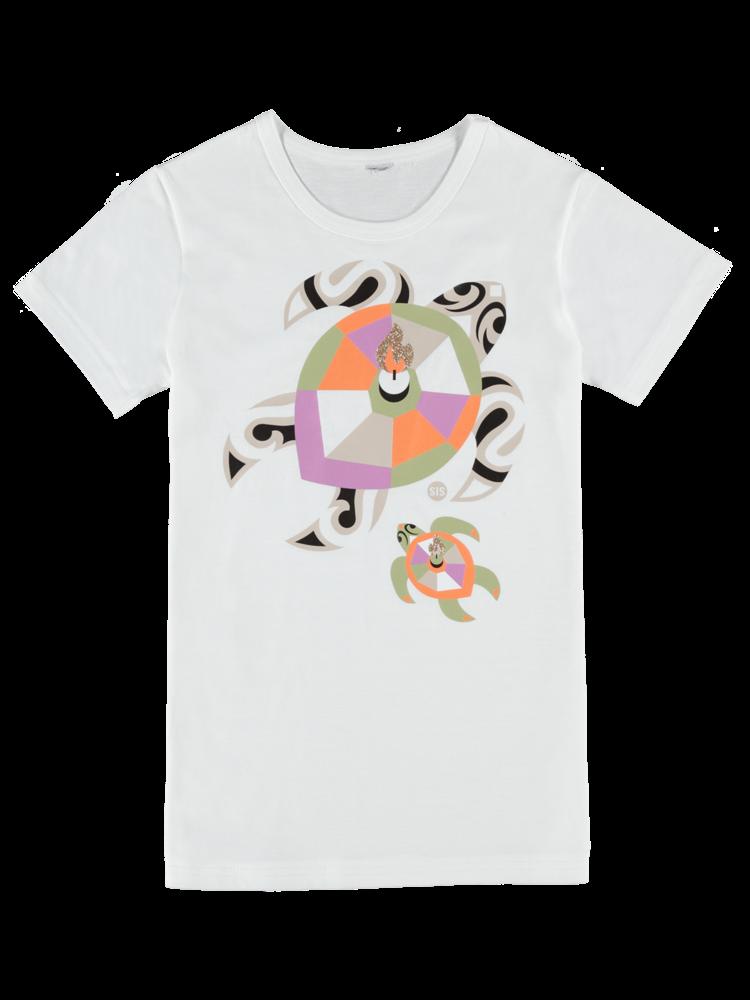 SIS by Spijkers en Spijkers t-shirt with turtle print