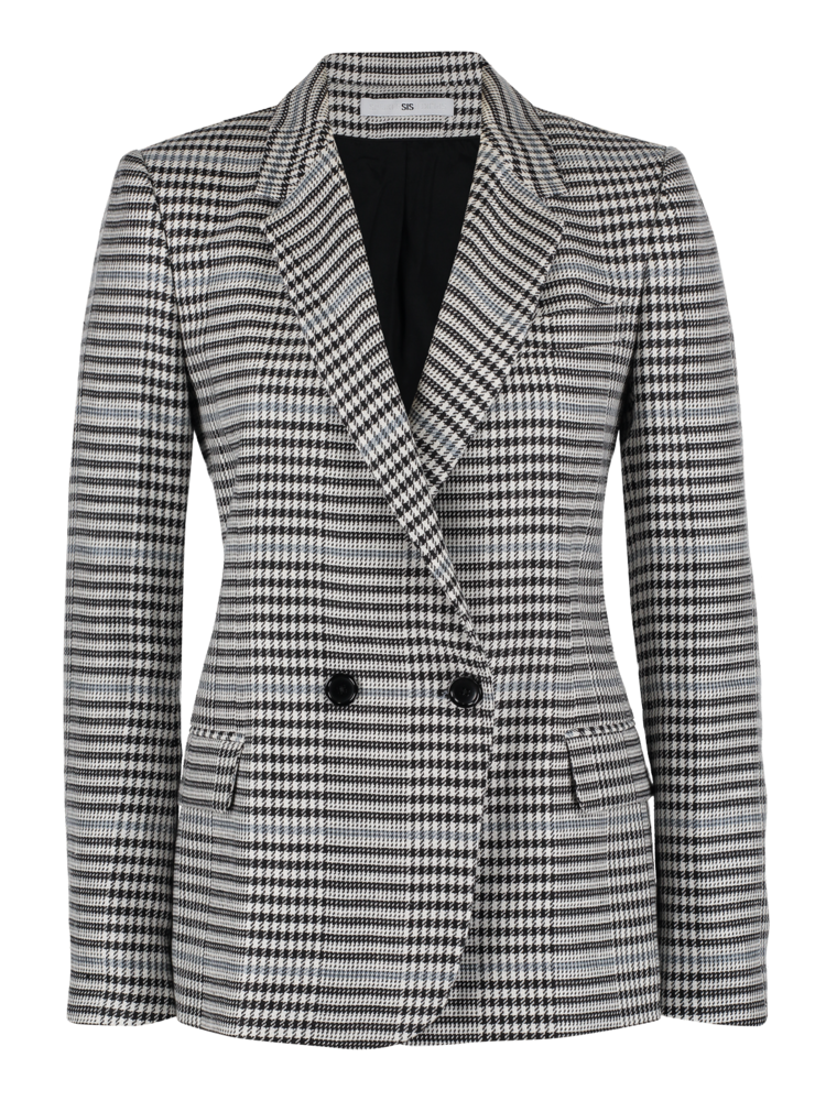 SIS by Spijkers en Spijkers double breasted check jacket