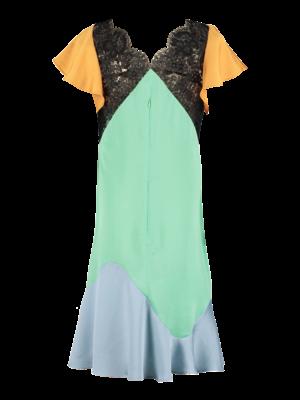 SIS by Spijkers en Spijkers 550-AB Lace Parari Ruffle Dress