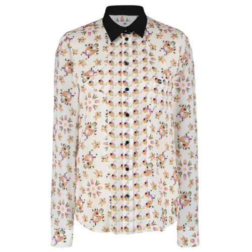 SIS by Spijkers en Spijkers classic blouse with different prints