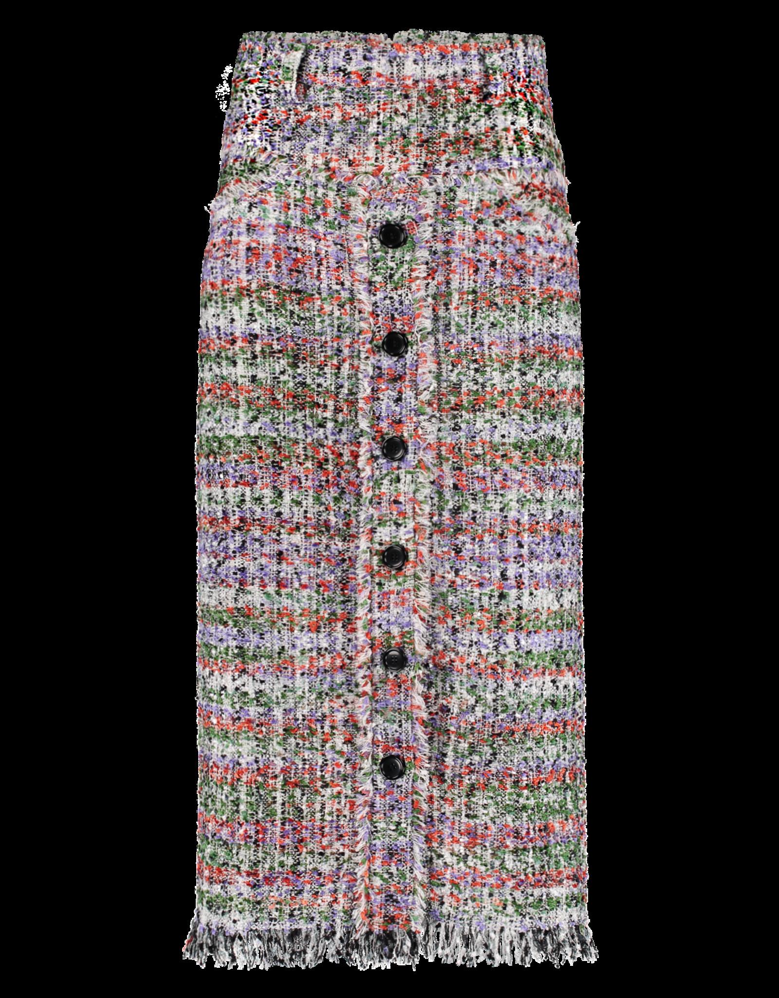 SIS by Spijkers en Spijkers SS20 305-R Long Tweed Skirt